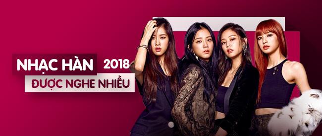 Nhạc Hàn Được Nghe Nhiều Năm 2018
