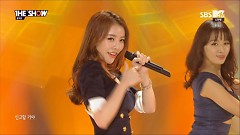 Please Arrest My Oppa (161025 The Show) - Seol Ha Yoon