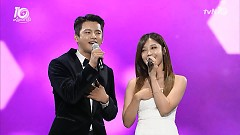 All For You (161009 tvN Festival & Awards) - Seo In Guk, Jeong Eun Ji