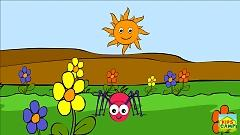 Incy Wincy Spider (Nursery Rhyme) - KidsCamp