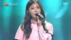 Music Crush (161113 Inkigayo) - Jeong Eun Ji, Jihyo, Ben
