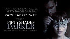 I Don't Wanna Live Forever (Lyric Video) - ZAYN, Taylor Swift