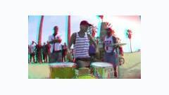 Jump Down [Red_Blue 3D] - Travis Barker