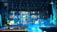 Payphone, Sexy Love, Way Back Into Love (130120 The 27th Golden Disk Awards) - Jung Yong Hwa,Nicole (KARA),Lee Hong Ki