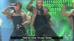 Tarzan (130622 Music Bank) - Wonder Boyz