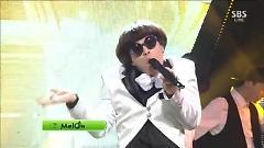 He Says She Says (131201 Inkigayo) - Mando , Chigi