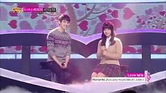 Love Falls (131214 Music Core) - JUNIEL , Lee Jong Hyun