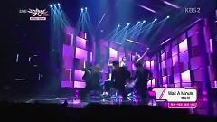 Wait A Minute (131122 Music Bank) - Baek Seung Heon
