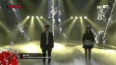 Breath (Chinese Ver.) (140225 SBS The Show All About K-pop) - Jang Ri In , CHEN