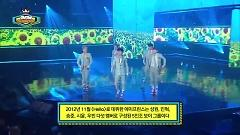 Kiss Scene (140514 Show Champion) - A-Prince