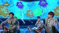 Kiss Scene (140521 Show Champion) - A-Prince