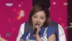 I Don't Need You Boy (140817 Inkigayo) - Sunny Days
