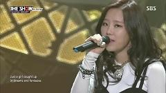 Lost Stars (141029 THE SHOW) - Almeng , Nam Young Joo