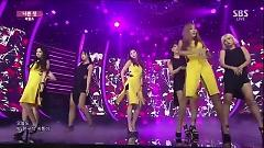 A Bad Thing (150906 Inkigayo) - PURFLES