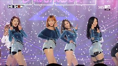 Fri.Sat.Sun (161101 The Show) - Dalshabet