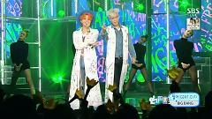 Zutter (0823 SBS Inkigayo) - GD&TOP