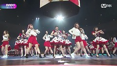 Heavy Rotation + Koisuru Fortune Cookies (2017 MAMA In Japan) - AKB48, Chung Ha, Weki Meki, PRISTIN, Fromis_9