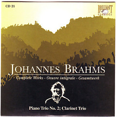 Johannes Brahms Edition: Complete Works (CD21)