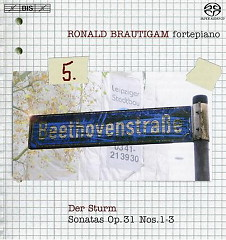 Beethoven: Complete Works For Solo Piano Vol.5 - Ronald Bräutigam