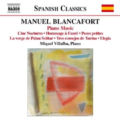 Manuel Blancafort Piano Music CD 5 No. 1 - Miquel Villalba