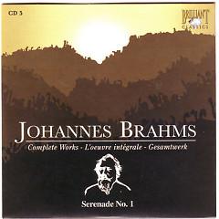 Johannes Brahms Edition: Complete Works (CD5)