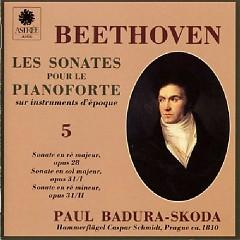 Beethoven - Les Sonates Pour Le Pianoforte Sur Instruments D'epoque CD 5