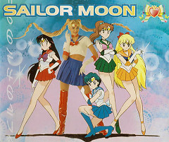 Sailor Moon Deutscher Titelsong Single - Super Moonies