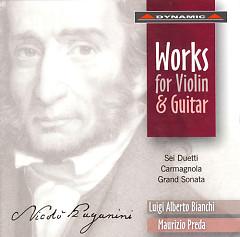 Nicolo Paganini  Works for Violin and Guitar CD1 - Nicolo' Paganini