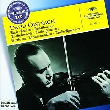Bach, Brahms, Tchaikovsky: Violin Concertos & Beethoven: Romances CD2 - David Oistrach