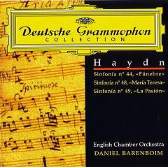 Daniel Barenboim English Chamber Orchestra