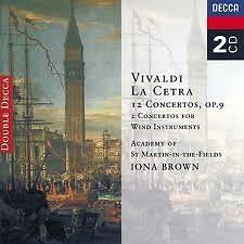 Vivaldi - La Cetra CD 1