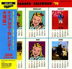 Niagara Calendar (30th Anniversary Edition) (CD1)
