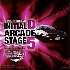 Initial D Arcade Stage 5 Original Soundtracks + (CD1)