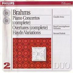 Brahms:Piano Concertos&Overtures(Complete) Haydn Variations CD1