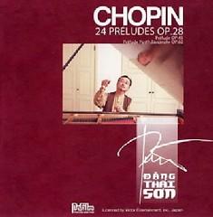 Chopin's Piano Album - Chopin 24 Preludes CD 1 - Đặng Thái Sơn