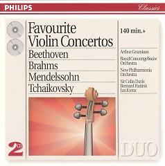 Favourite Violin Concertos CD 1
