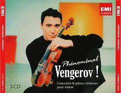 Phenomenal Vengerov - Concertos & Pieces Virtuosos Pour Violon CD 1 - Maxim Vengerov,Ian Brown,London Symphony Orchestra