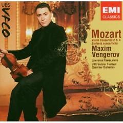 Mozart - Violin Concertos Nos. 2 & 4 Sinfonia Concertante - Maxim Vengerov,UBS Verbier Festival Chamber Orchestra