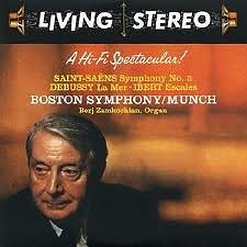 Living Stereo 60CD Collection - CD 2: Saint Saëns Symphony No. 3; Debussy La Mer; Ibert Escale