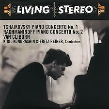Living Stereo 60CD Collection - CD 7: Tchaikovsky Piano Concerto No. 1; Rachmaninoff Piano Concert