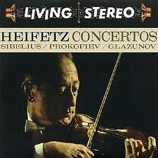 Living Stereo 60CD Collection - CD 14: Sibelius, Prokofiev, Glazunov Violin Concertos