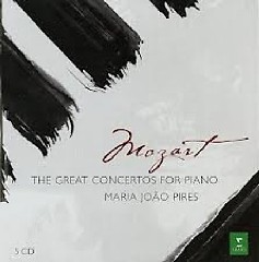 Wolfgang Amadeus Mozart The Great Concertos For Piano CD 5