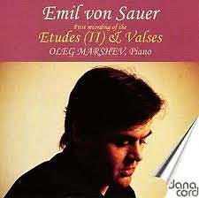 Emil von Sauer Complete Piano Music CD 2 Etudes (II) & Valses - Oleg Marshev