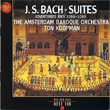 J S Bach Orchestral Suites Disc 2