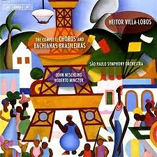 The Complete Choros And Bachianas Brasileiras CD3