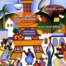 The Complete Choros And Bachianas Brasileiras CD4