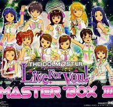 THE IDOLM@STER MASTER BOX III (CD10)