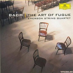 Bach, Die Kunst Der Fuge BWV 1080Fur Streichquartett Disc.2 - Emerson Quartet
