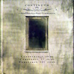 Continuum 1 - Bass Communion
