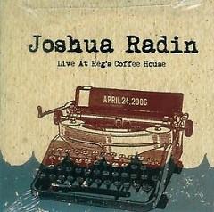 Live At Reg's Coffee House (CDEP) - Joshua Radin